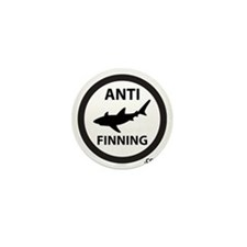 Bull Shark (Tighter) - Anti-Shark Finn Mini Button
