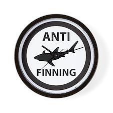 Bull Shark (Tighter) - Anti-Shark Finni Wall Clock