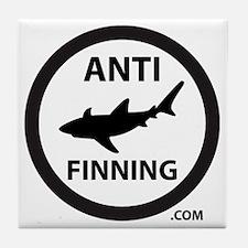 Bull Shark (Tighter) - Anti-Shark Fin Tile Coaster