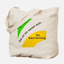 Geocaching Off the Path Tote Bag