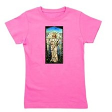 Angel in Pink Girl's Tee