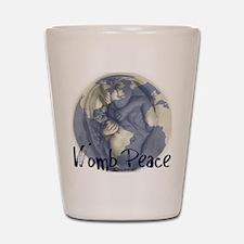 wombpeace2 Shot Glass