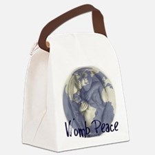 wombpeace2 Canvas Lunch Bag