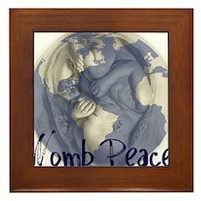 wombpeace2 Framed Tile