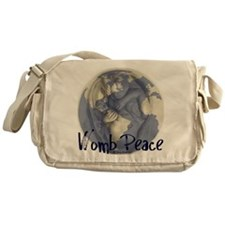 wombpeace2 Messenger Bag