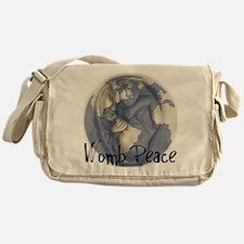 wombpeace2 Messenger Bag
