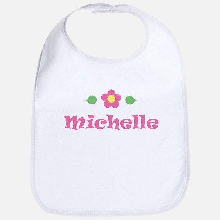 "Pink Daisy - ""Michelle"" Bib"