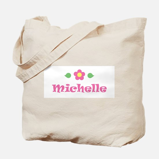 """Pink Daisy - """"Michelle"""" Tote Bag"""