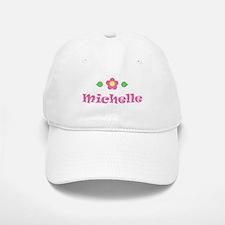 "Pink Daisy - ""Michelle"" Baseball Baseball Cap"
