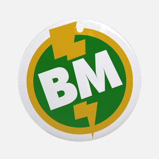 Best Man - BM Dupree Round Ornament