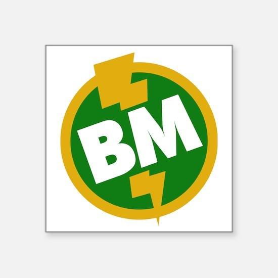 """Best Man - BM Dupree Square Sticker 3"""" x 3"""""""