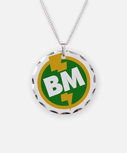 Best Man - BM Dupree Necklace Circle Charm