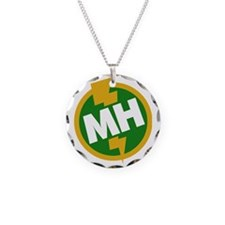 Maid of Honor Necklace Circle Charm