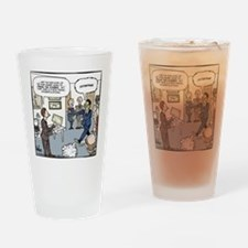 Frank the Zombie Final Drinking Glass