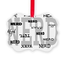 nerdmultiple Ornament