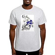 Ipswich Football Horse Ash Grey T-Shirt