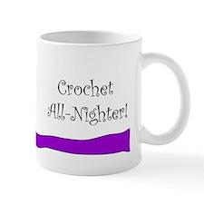 Crochet All-Nighter Coffee Mug
