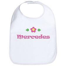 "Pink Daisy - ""Mercedes"" Bib"