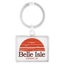 Belle Isle Detroit Michigan Landscape Keychain