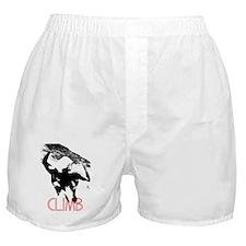 T-shirt Logo Transparent (black) Boxer Shorts
