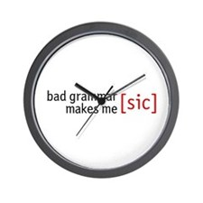 Now THAT's a funny Wall Clock