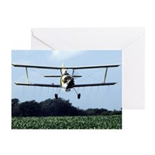 Cute Agriculture aircraft Greeting Cards (Pk of 10)