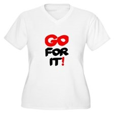 GO FOR IT! Plus Size T-Shirt