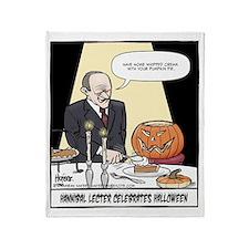 Hannibals Halloween Final Throw Blanket
