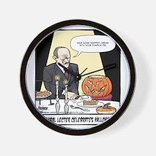 Hannibals Halloween Final Wall Clock