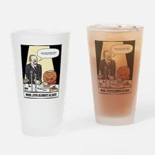Hannibals Halloween Final Drinking Glass