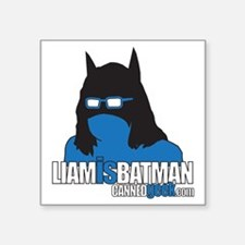"""LIAMisBATMAN Square Sticker 3"""" x 3"""""""