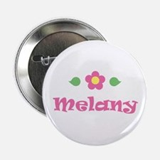 "Pink Daisy - ""Melany"" Button"