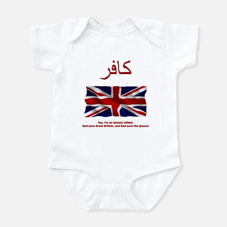God Save the UK! Infant Bodysuit