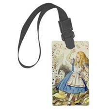 ALICE The Shower of Cards  Illus Luggage Tag
