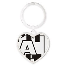Im A Bit ... Heart Keychain