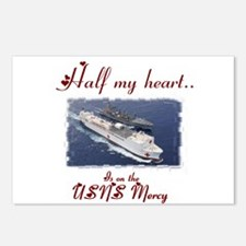 USNS Mercy 1 Postcards (Package of 8)
