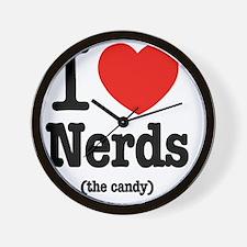 i_love_nerds Wall Clock