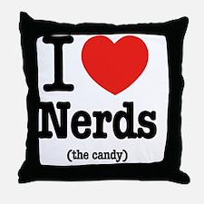 i_love_nerds Throw Pillow