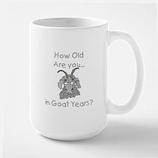 Goat Years Large Mug