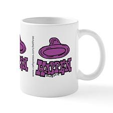 condom_happen_left_purple_bumper_sticke Mug