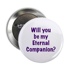 Be My Eternal Companion? purp Button
