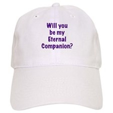 Be My Eternal Companion? purp Baseball Cap