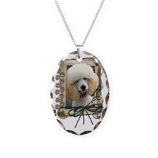 Stone_Paws_Poodle_Apricot Necklace