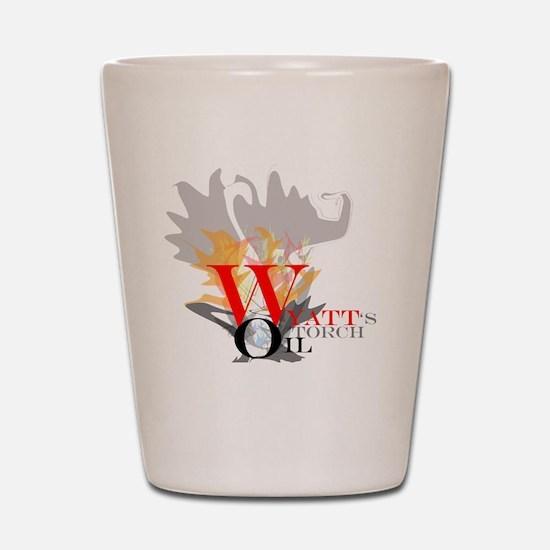 WyattsTorch Shot Glass