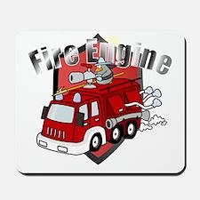 fire_truck Mousepad