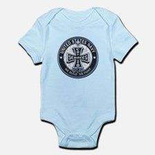 US Navy Seabees Cross Blue Body Suit