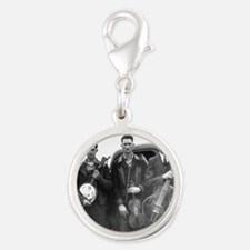 Mitchell Brothers Silver Round Charm