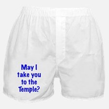 To the Temple? Boxer Shorts