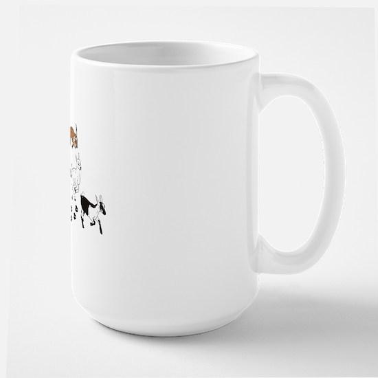 KidsWalkFront Large Mug