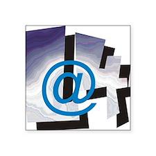 """L4 LOGO-1 Square Sticker 3"""" x 3"""""""
